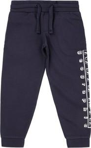 Granatowe spodnie dziecięce Napapijri