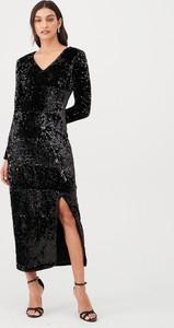 Sukienka V by Very maxi z dekoltem w kształcie litery v