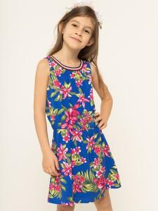 Sukienka dziewczęca Tommy Hilfiger w kwiatki