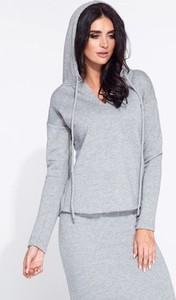 Bluza Bien Fashion z tkaniny krótka w sportowym stylu