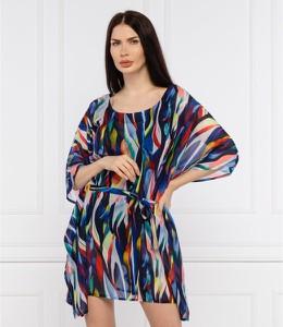 Sukienka Joop! z długim rękawem z okrągłym dekoltem