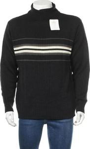 Czarny sweter Explorer w młodzieżowym stylu