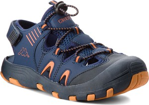Niebieskie buty dziecięce letnie Kappa