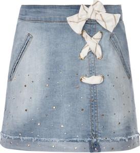 Niebieska spódniczka dziewczęca Mayoral
