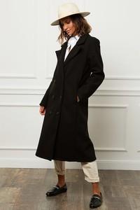 Czarny płaszcz Alice & Charlotte