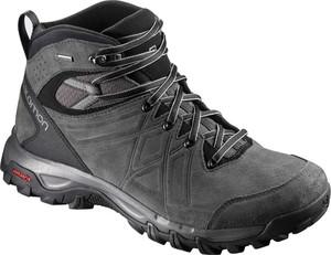 Buty trekkingowe Salomon w sportowym stylu z goretexu sznurowane