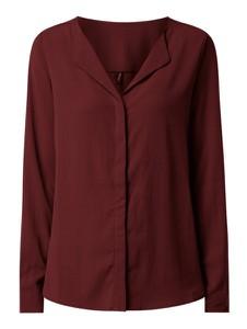 Czerwona bluzka Vero Moda z dekoltem w kształcie litery v
