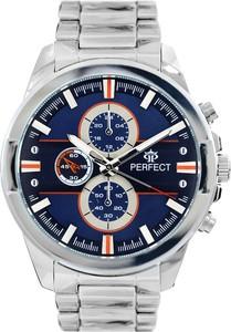 Zegarek męski PERFECT- AEROS srebrny gt