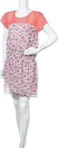 Sukienka So Soon By Women Dept mini z okrągłym dekoltem w stylu casual