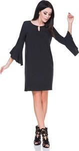 Sukienka sukienki.pl z długim rękawem z tkaniny