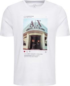 T-shirt Armani Jeans z krótkim rękawem z nadrukiem