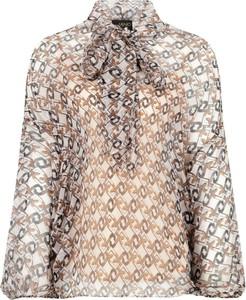 Bluzka Liu-Jo z długim rękawem z jedwabiu