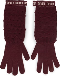 Czerwone rękawiczki Liu-Jo