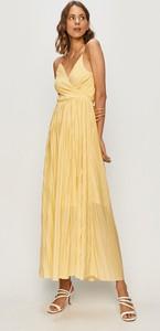 Sukienka Only z dekoltem w kształcie litery v z tkaniny