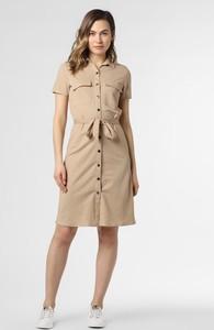 Sukienka Vila w stylu casual mini z kołnierzykiem