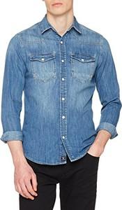 Niebieska koszula Mavi
