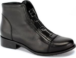 Czarne botki Eksbut w stylu casual
