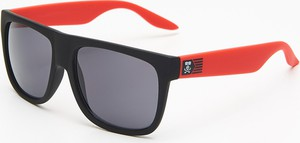 2c0e23b89b9fc4 Cropp - Okulary przeciwsłoneczne - Czerwony