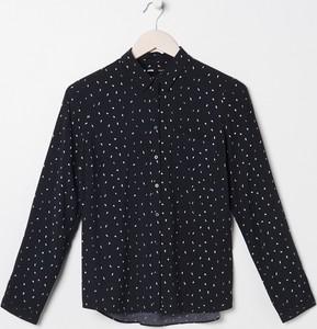 Czarna koszula Sinsay w stylu casual