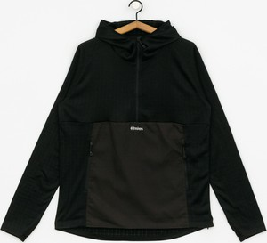 Czarna bluza ETNIES z tkaniny