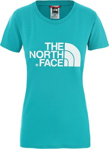 Bluzka The North Face z krótkim rękawem z bawełny w młodzieżowym stylu