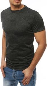 Czarny t-shirt Dstreet z krótkim rękawem