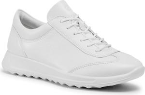 Sneakersy eobuwie.pl sznurowane z płaską podeszwą