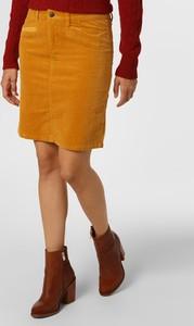 Żółta spódnica Marie Lund mini