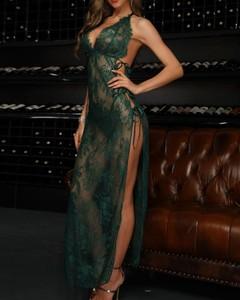 Sukienka Kendallme bez rękawów z dekoltem w kształcie litery v maxi