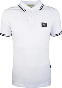 Koszulka polo Versace Jeans z bawełny