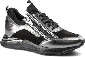 Czarne buty sportowe ARTIKER RELAKS sznurowane