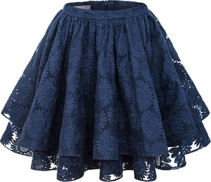 Niebieska spódnica Manifiq&Co. mini