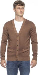 Brązowy sweter Alpha Studio z wełny