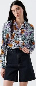 Koszula Cropp w stylu casual z długim rękawem z kołnierzykiem