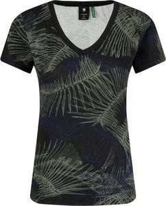 T-shirt G-Star Raw z dekoltem w kształcie litery v