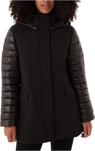 Czarna kurtka Colmar z tkaniny w stylu casual
