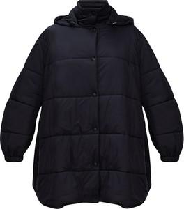 Czarna kurtka Givenchy długa
