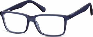Granatowe okulary damskie Stylion