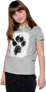 Bluzka dziecięca Underworld dla dziewczynek z bawełny z długim rękawem