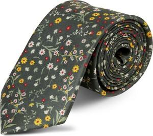 Krawat Bohemian Revolt w stylu boho z jedwabiu