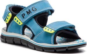 Buty dziecięce letnie Primigi z nubuku