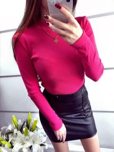 Bluzka Yasmin Boutique z długim rękawem w stylu casual