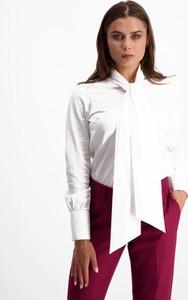 Koszula Lavard z kokardą z tkaniny