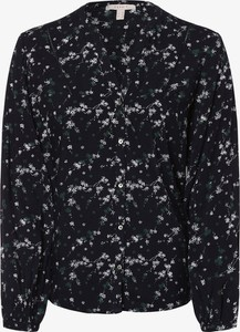 Turkusowa bluzka Esprit w stylu boho z długim rękawem