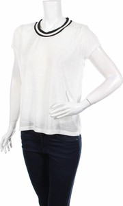 Bluzka Vestino z okrągłym dekoltem w stylu casual