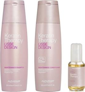 Alfaparf Milano Alfaparf Keratin Therapy Maintenance | Zestaw podtrzymujący efekt wygładzenia: szampon 250ml + odżywka 250ml + olejek 50ml - Wysyłka w 24H!