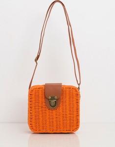 Pomarańczowa torebka Sheandher.pl na ramię