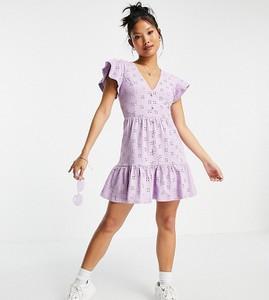 Sukienka Asos baskinka mini