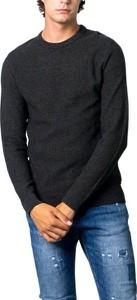 Czarna bluza Jack Jones z bawełny w stylu casual