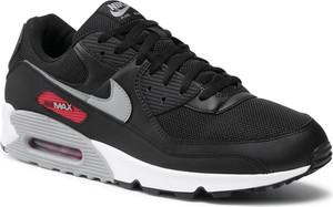 Czarne buty sportowe Nike ze skóry ekologicznej